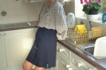 Free porn pics of Ali teasing in the kitchen 1 of 21 pics