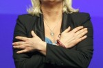 Free porn pics of Love jerking off to strong sexy Marine Le Pen 1 of 50 pics