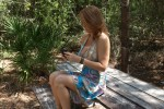 Free porn pics of Charlee Chase in the outdoors 1 of 54 pics