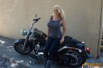 Free porn pics of Charlee Chase biker babe 1 of 65 pics