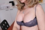 Free porn pics of Nina Hartley in sexy black stocking 1 of 28 pics