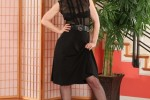Free porn pics of Nina Hartley black dress 1 of 80 pics
